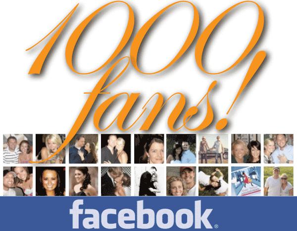 1000 Fan su Facebook