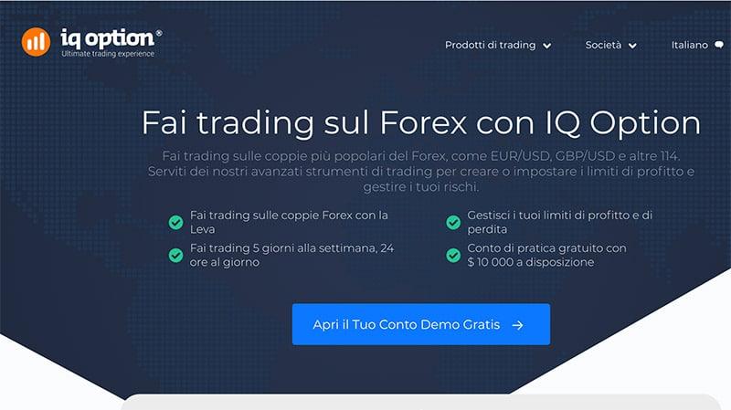 Trading Opzioni IQ Option: Deposito minimo 10 €?