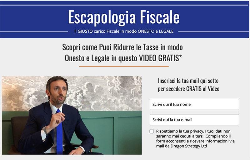 Escapologia-Fiscale Dimezzare le Tasse in Modo Legale?