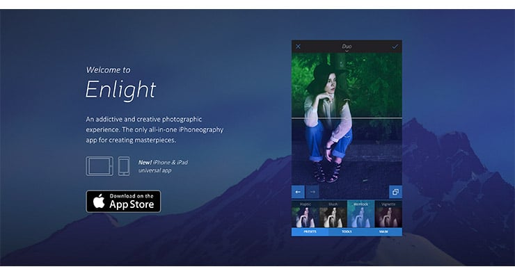 Enlight App Per Fare Editing di Foto da iPhone e iOS?
