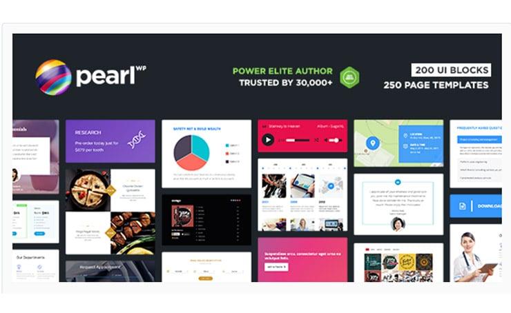 Template WordPress Multi Micro Nicchia: Pearl