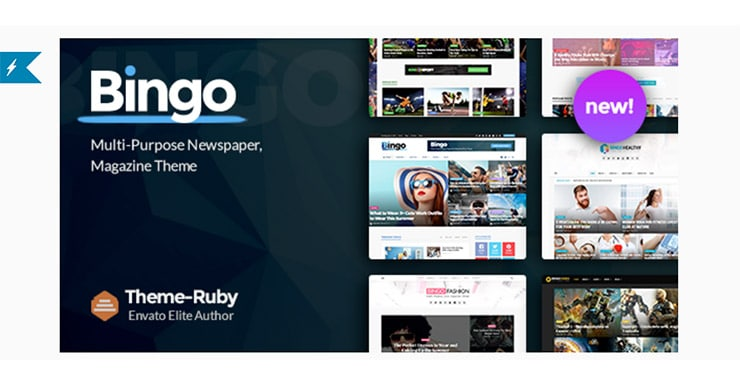 Bingo, il Template WordPress Per Magazine, NewsPaper e Non Solo