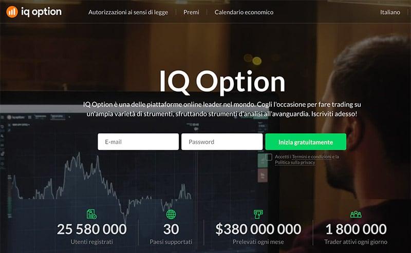 IQ Option: Broker Autorizzato CySEC