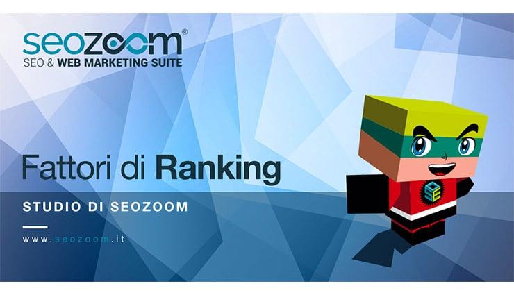 SEO e Fattori di Ranking 2017 - L'Analisi di SEOZoom