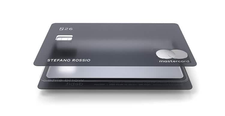 N26 Metal Carta Mastercard: Carta di Debito NFC - Richiedila Online