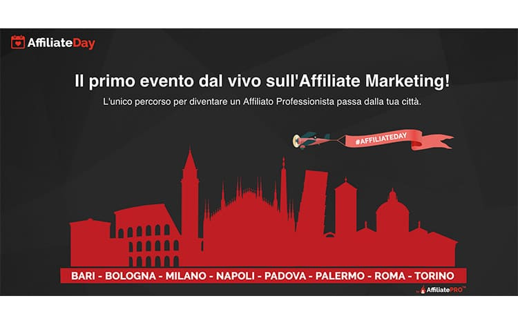 AffiliateDay Giannicola Montesano: Tour di Eventi sull'Affiliate Marketing?