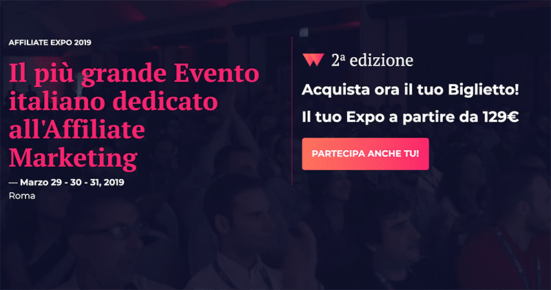 Affiliate Expo - Eventi Affiliate Marketing in Italia