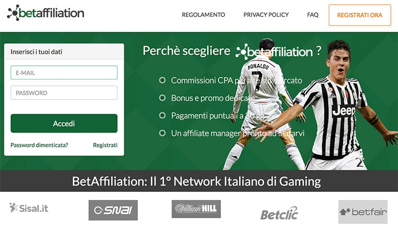 Affiliazione BetAffiliation: Il Network Italiano Per le Affiliazioni Gaming?