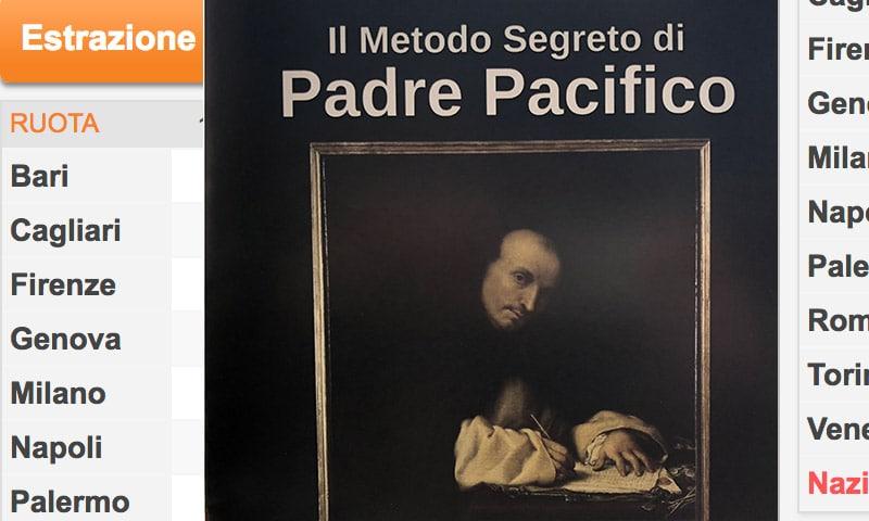 Come Vincere al Lotto: Metodo Padre Pacifico, il Libro