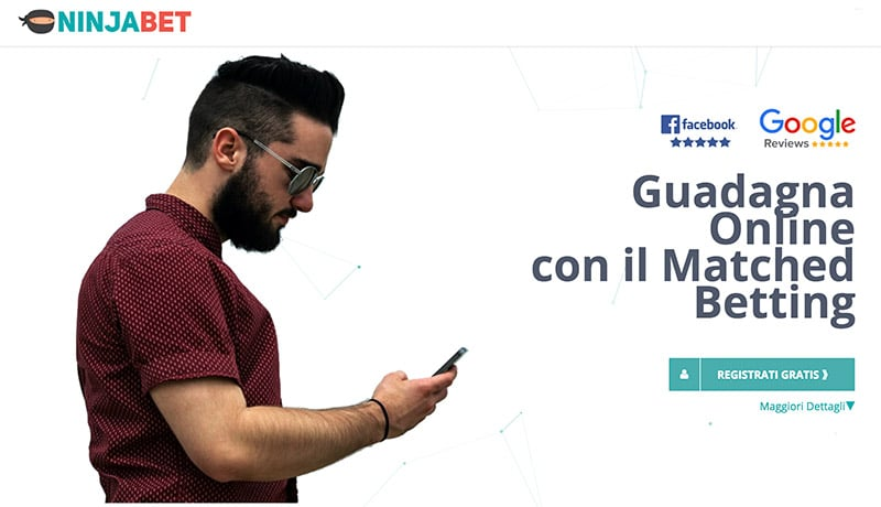 Ninjabet: Guadagnare Online Con Scommesse e Matched Betting?
