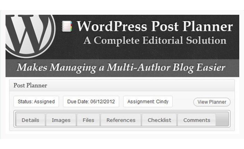Plugin WordPress Per Gestire Piano Editoriale e Blog Multi Autore