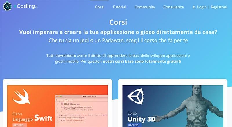 xCoding: Corso Per Imparare a Creare App e Giochi da Casa?