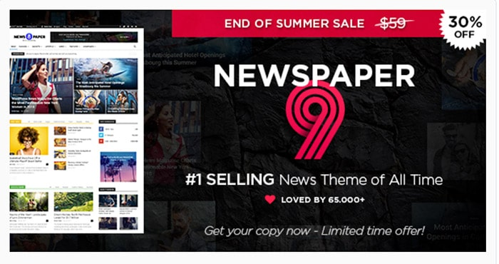 Newspaper (Best Selling News & Magazine Theme)