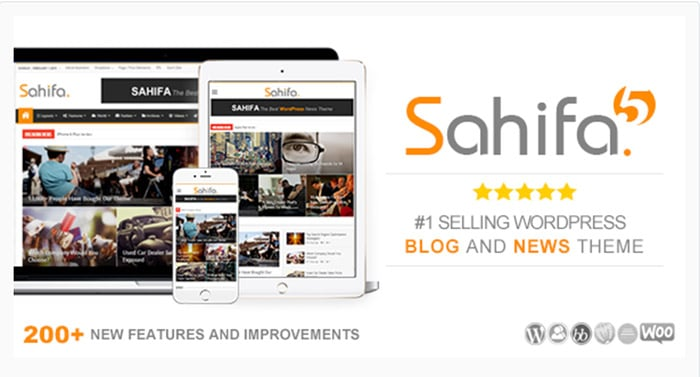 Sahifa - Responsive WordPress News/Magazine/Blog theme