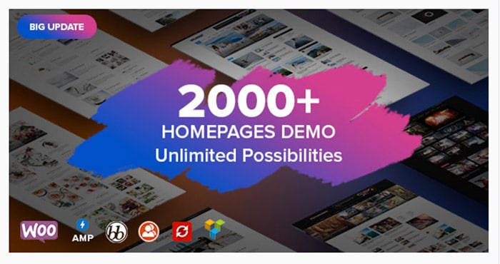 Soledad - Multi Concept Blog NEws AMP WordPress