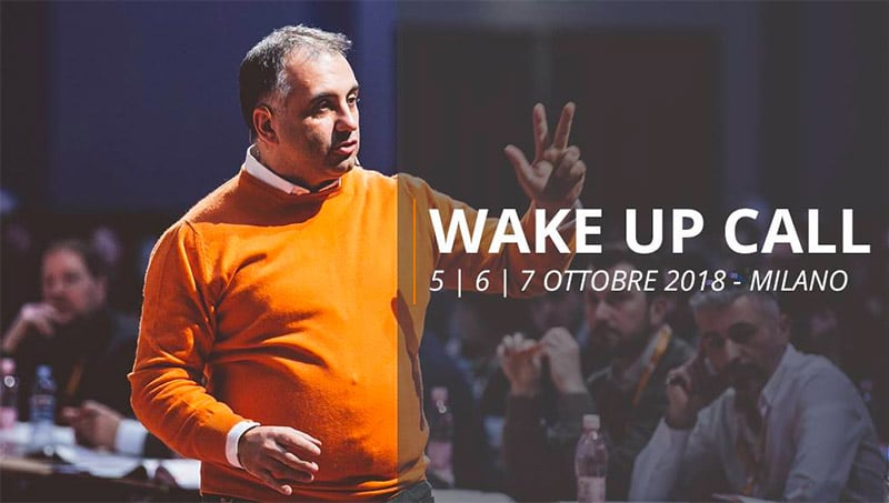 Evento Wake Up Call - Alfio Bardolla Training Group