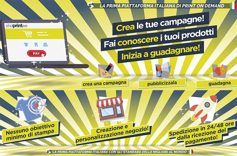 Shoprintee: Piattaforma Italiana Print on Demand Con Dropshipping