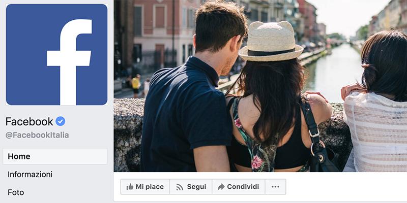 Ottimizzare immagine copertina Facebook