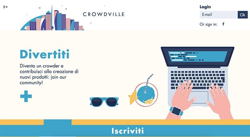 Crowdville: Come Guadagnare Online con Test e Recensioni