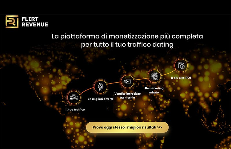 Affiliazione Flirt Revenue Dating Platform