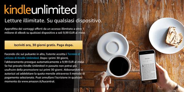Iscrizione Kindle Unlimited Come Funziona?