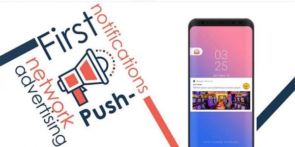 MegaPush Notification Advertising Notification Network e Affiliazione