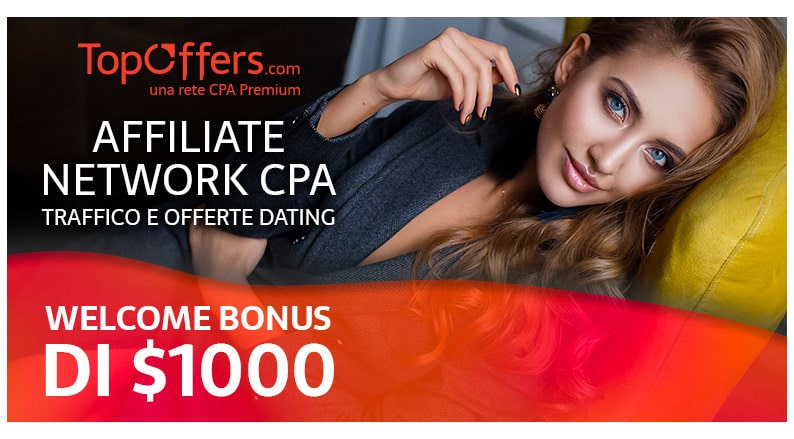 TopOffers - Affiliate Network CPA Traffico e Offerte Dating