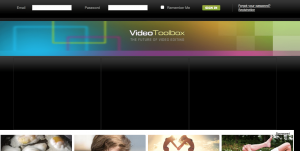 Home Page Video ToolBox