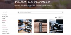 Il Marketplace di Indiegogo