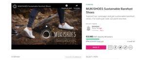 Pagina campagna Indiegogo e form donazione