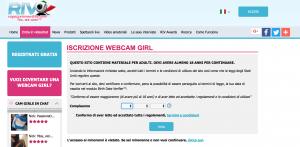 Diventare una Cam Girl: schermata di Ragazze in Vendita