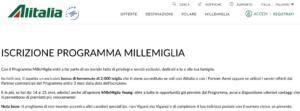 Esempio Fidelizzazione Clienti Alitalia