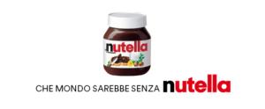 Lo slogan della Nutella