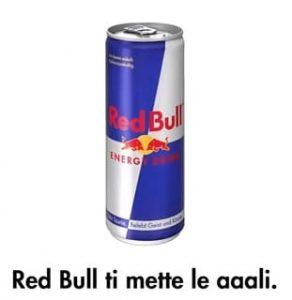 Slogan di Redbull