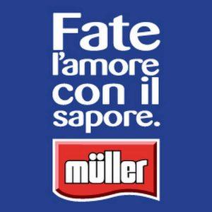 Lo slogan pubblicitario di Muller