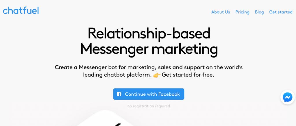 Creare un Bot con Chatfuel