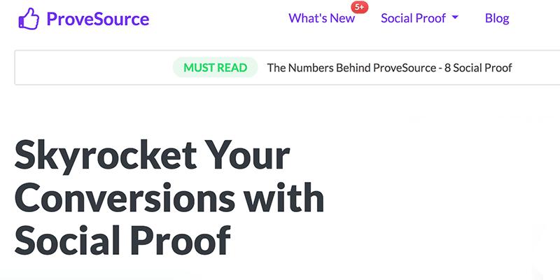 Provesource App e Script Social Proof Guida Italiano