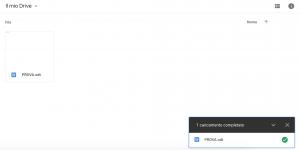 Dashboard Google Drive