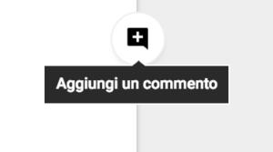 """""""Aggiungi commento"""" in Google Docs"""