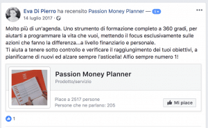 Opinioni Passion Money Planner