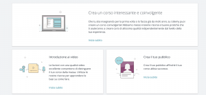 Tutorial Insegnante Udemy
