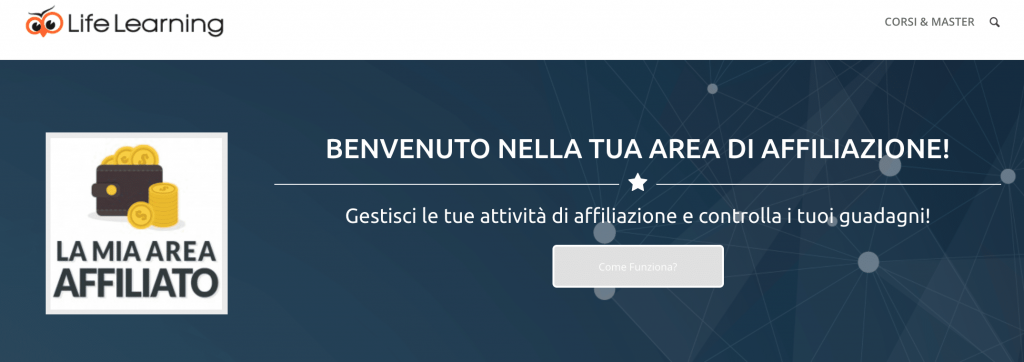 Area Affiliazione Life Learning