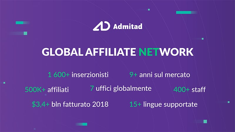 Admitad Affiliate Network Recensione