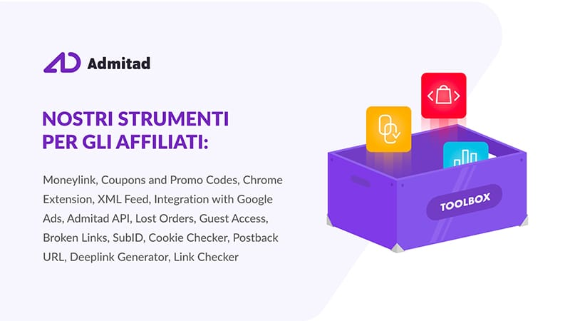 Admitad Tools -Strumenti Per Affiliati