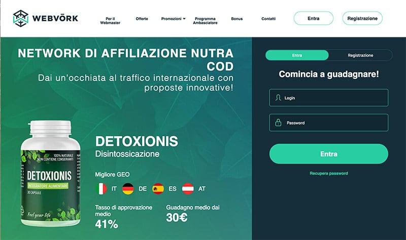 WebVork Affiliate Network