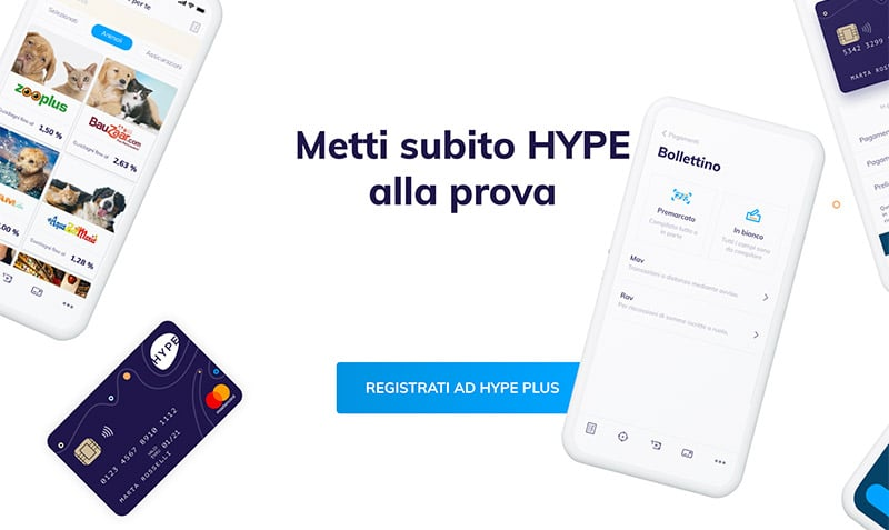 Carta Hype Plus Come Funziona?