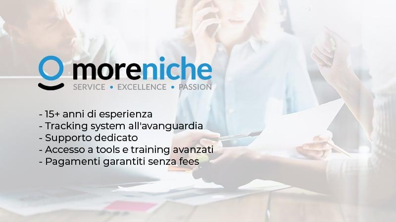 Pagamento Commissioni Moreniche