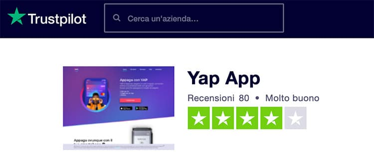 Yap App Opinioni