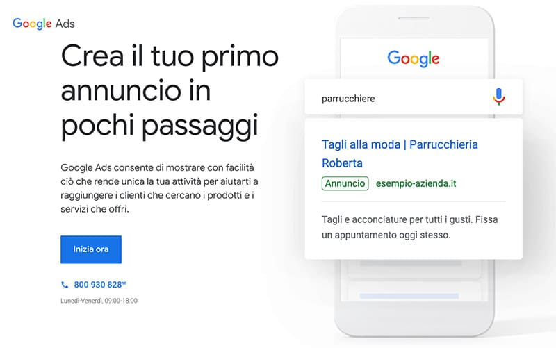 Corso Google AdWords Online in Italiano