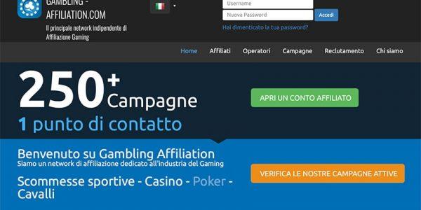 Gambling Affiliation: Network Affiliazione Gambling